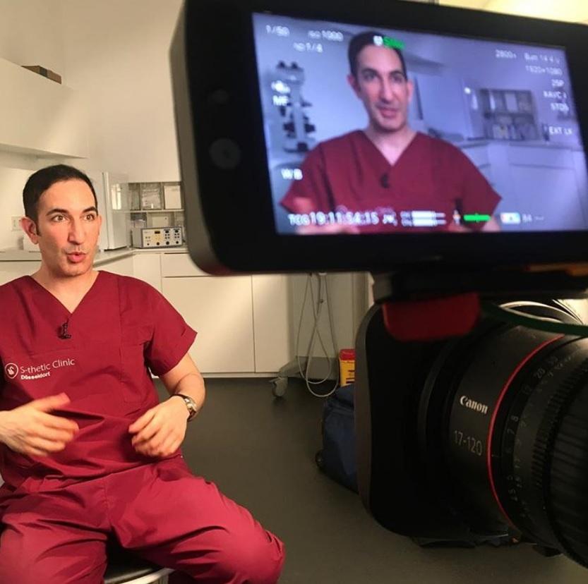 Dr. Fatemi im TV
